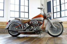 vintage harley davidson | Vintage HARLEY DAVIDSON custom soft tail heritage | Flickr - Photo ... #HarleyDavidson #Vintage