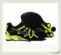 Special Price : $81.99 - Men's Nike Shox Turbo+ 13 - Black/Green