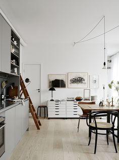 Open kitchen and lots of style