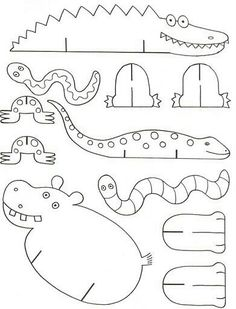 printable animal CRAFTS