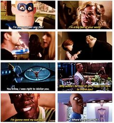 Incredibles and Iron Man