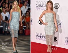 Sarah Hyland en Christian Siriano - ''2015 People's Choice Awards''