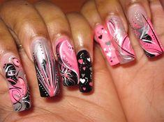 aspiring to be this pro at freehand nail art!