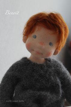 Benoît by North Coast dolls Waldorf Crafts, Waldorf Toys, Doll Shop, Doll Tutorial, Doll Maker, Soft Dolls, Custom Dolls, Diy Doll, Fabric Dolls