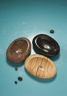 River Pebble Vessel By Stone Forest