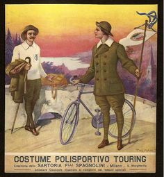 Polisportivo Touring Apparel    this one is for the folks at Archival Clothing