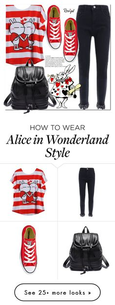 """Rosegal 8"" by cherry-bh on Polyvore featuring Converse"