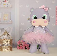 Sewing Stuffed Animals, Foam Crafts, Hippopotamus, Felt Dolls, Safari, Polymer Clay, Toys, Crochet, Sewing Dolls