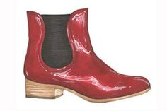 Dear Lucky, How To: Boots. Illustration by Lauren Friedman.