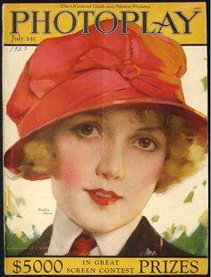 Photoplay  Pauline Garon - J Knowles Hare July 1923
