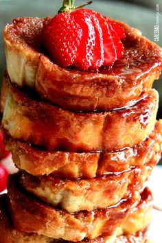 Overnight Creme Brulee French Toast | http://www.carlsbadcravings.com/overnight-creme-brulee-french-toast/