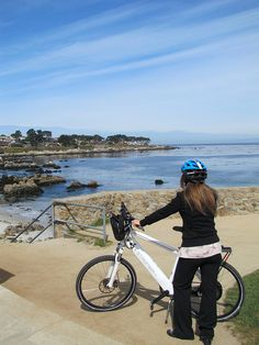 Electric Bikes from Blazing Saddles by SeeMonterey, via Flickr
