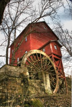 old mill ...
