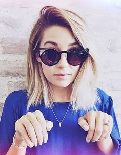 Lauren Conrad Short Hair Do By Kristin Ess | Headquarters for Hair