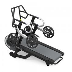 The HIITMill by StairMaster is a self-powered, non-motorized treadmill with fixed incline designed to develop speed, strength and explosive power when used in a HIIT High Intensity Interval Training Program. The StairMaster HIIT Mill will deliver an e Commercial Fitness Equipment, Cardio Equipment, Home Gym Equipment, Training Equipment, Sports Equipment, Interval Training Program, High Intensity Interval Training, Incline Treadmill, Military Workout