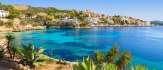Known for its picturesque beaches and delicious Spanish cuisine, Mallorca is a popular beach destination for most of Europe's vacation goers. The island city is served by Palma de Mallorca Airport, which connects the city to much of Europe.