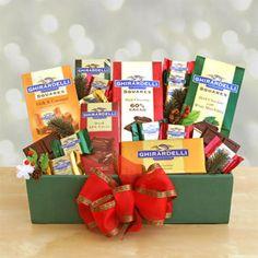 Ghirardelli Chocolate Holiday Gift Box
