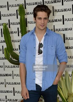 {Martin Rivas poses during a photocall for 'Pull and Bear' pool party on June 2014 in Barcelona, Spain. Most Beautiful People, Beautiful Men, Art Of Beauty, Great Smiles, Dream Boy, Face Men, Perfect Man, Hot Boys, My Boyfriend