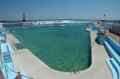 Jubilee Pool - Penzance, UK. This is one of the last remaining art deco lido's left in England and it's beautiful.