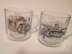 """Set of two of """"The Gulf Collectors' Series"""" limited edition glasses"""