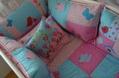 resultado final de um projeto que foi executado com um amor sem medidas... by Maria Sica, via Flickr    The most beautiful patchwork babyitems, lots and lots of gorgeous work!