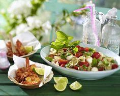 """Unser beliebtes Rezept für Nudelsalat """"Caprese"""" und mehr als 55.000 weitere kostenlose Rezepte auf LECKER.de."""