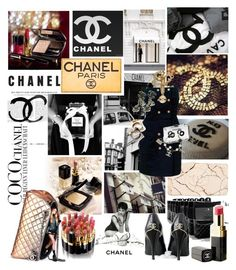 """""""coco-chanel"""" by patienceisavirtue ❤ liked on Polyvore featuring Meghan Los Angeles and Chanel"""