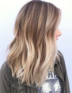 Balayage Color Ideas for Spring 2018 Medium Hairstyles