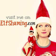 My Elf on the Shelf holiday humor website ElfShaming is on its 2nd year. Come laugh along & submit your own naughty elves!