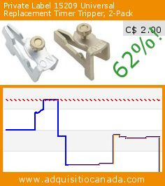 Private Label 15209 Universal Replacement Timer Tripper, 2-Pack (Tools & Hardware). Drop 62%! Current price C$ 2.00, the previous price was C$ 5.33. http://www.adquisitiocanada.com/jasco/private-label-15209