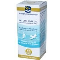 New at iHerb is Nordic Naturals, Pet Cod Liver Oil For Cats & Dogs,a pure Omega-3 Oil supplement to promote pet health and wellness.