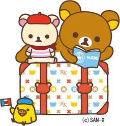 Where to next?? #Rilakkuma
