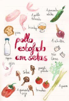 recetas ilustradas gastroandalusi