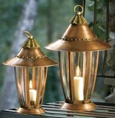 "Six Sided Lantern Large by H Potter. $94.00. Our Popular Six-Sided Lantern Now Available in Two Sizes Poised at the entrance to your garden, these candle lanterns are a charming accent anytime of day. Beautiful by day and elegant in the evening, it can be used indoors or out to soften the mood. Create a dazzling effect on any patio or table. For use indoors or out Top removes for inside access Small 12"" H x 8"" W Large 14"" H x 10""W Candles not included Copper A..."