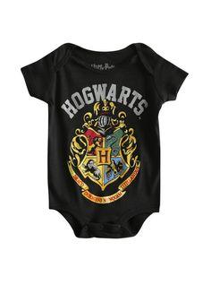 "Harry Potter Baby Bodysuit /""Gryffindor House Crest/"" Baby grow Vest Hogwarts"