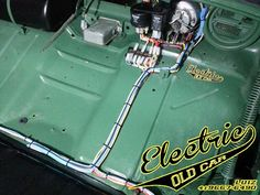 Electric Old Car… Mk1, Vw Rat Rod, Old Bug, Vw Gol, Vw Beetles, Old Cars, Cars And Motorcycles, Classic Cars, Pure Products