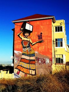 Beyond Banksy Project / Faith 47 - Cape Town, South Africa