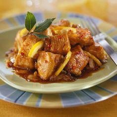Découvrez la recette Porc au citron sur cuisineactuelle.fr.