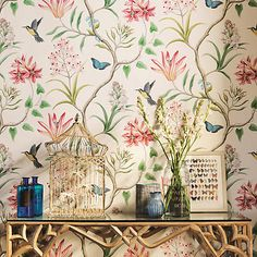 Buy Sanderson Clementine Wallpaper Online at johnlewis.com