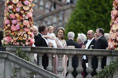 Princess Madeleine with Leonore.