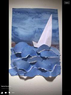 Summer Art, Kindergarten, Flag, Children, Crafts, Scrapbooking, Craft Ideas, Games, Young Children