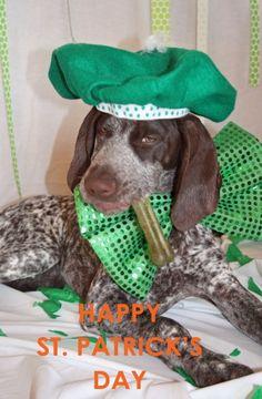 Happy St. Patricks Day - Love Teague!