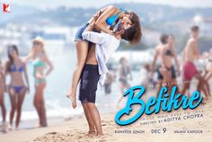Befikre bollywood film new fourth poster look unveiled