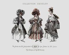 1829 - Collection Geszler ; Die Moden des XIX. Jahrhunderts / Les Modes du XIX. Siècle / The fashions of the XIX. Century