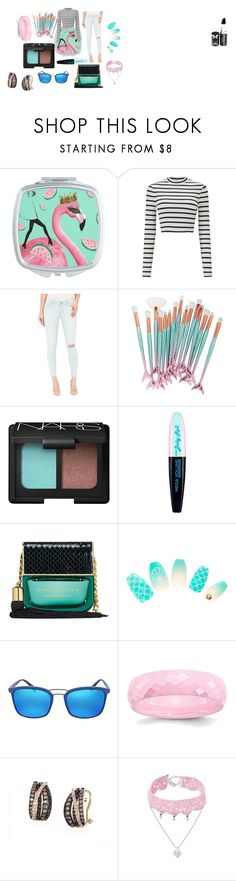 """""""humaid"""" by foreverfashion10517 on Polyvore featuring Miss Selfridge, Levi's, NARS Cosmetics, L'Oréal Paris, Marc Jacobs, Prada, Effy Jewelry and Design Lab"""