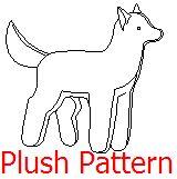 Wolf Plush Pattern by ~akireru on deviantART