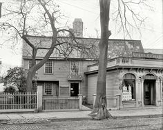 """Salem, MA, circa 1901. """"The Witch House.""""..Ghost adventures does an episode on this pkace and speaks to the first witch Hung and accused of witch craft. Her name was Bridget"""
