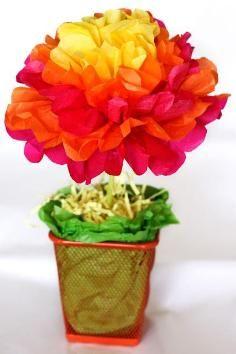 Tutorial DIY DIY flores de papel crepé / DIY simple y fácil de la flor de papel de Decisiones - Bead & Cable