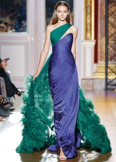 amazing colour combination by Zuhair Murad