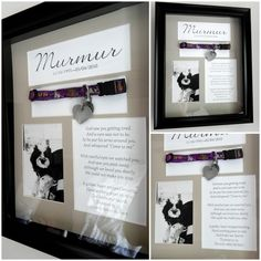 Pet Memorial Shadow Box with Collar Custom by ForeverMyMemories, $80.00